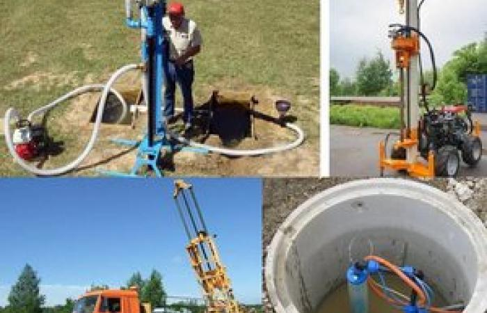 Забурить скважину, водоснабжение